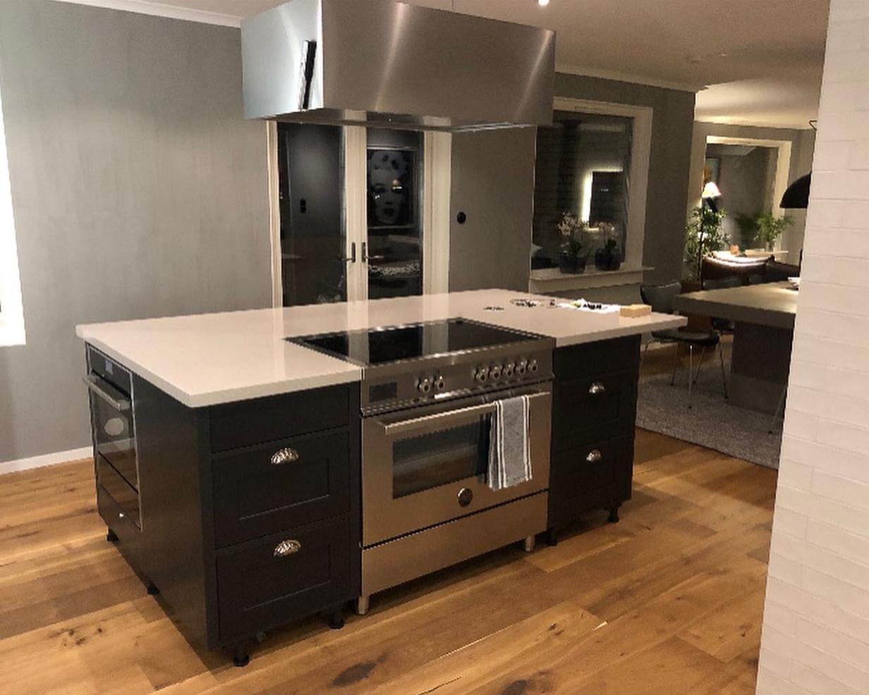Byggnation av nytt kök – med extra allt!